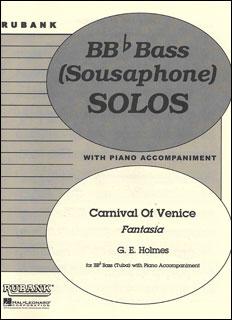 楽譜 ヴェニスの謝肉祭 (ファンタジア)(Tub&Pf)(04479314/RUBX280/チューバ