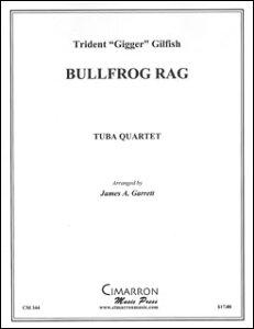 楽譜 ブルフロッグ・ラグ(バリ・チューバ4重奏)(CM344/バリ・チューバ4重奏(編成:Euph2/Tuba2)/輸入楽譜(T))