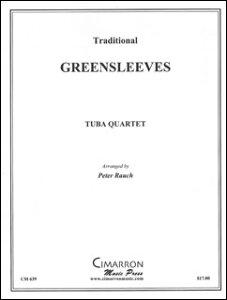楽譜 グリーンスリーヴス(バリ・チューバ4重奏)(CM639/バリ・チューバ4重奏(編成:Euph2/Tuba2)/輸入楽譜(T))