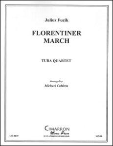 楽譜 フチーク/フローレンティナー行進曲(バリ・チューバ4重奏)(CM1610/バリ・チューバ4重奏(編成:Euph2/Tuba2)/輸入楽譜(T))