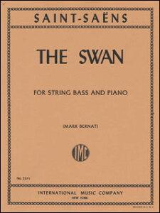 楽譜 サン=サーンス/白鳥(「動物の謝肉祭」より)(3571/コントラバス・ソロとピアノ/輸入楽譜(T))