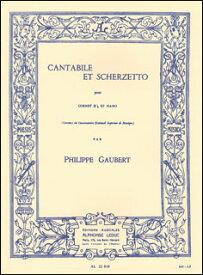 楽譜 ゴーベール/カタービレとスケルツェット(AL22818/トランペットとピアノ(ソロ譜はin Bb管用)/輸入楽譜(T))