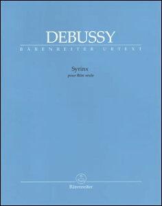 楽譜 ドビュッシー/パンの笛(シランクス)(BA8733/フルート・ソロ(無伴奏)/輸入楽譜(T))