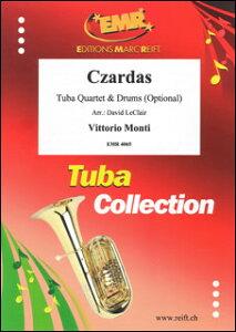 楽譜 モンティ/チャルダッシュ(【2113429】/EMR4065/ユーフォ・チューバ4重奏 (オプション:ドラム)/輸入楽譜(T))
