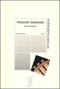 楽譜 スホーネンベーク/トワイライト・セレナーデ(ユーフォニウム・ソロ&輸入吹奏楽譜(T)/G3/T:8:04)