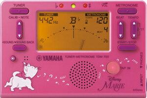 YAMAHA ヤマハ TDM-700DMRE ディズニー・マリー チューナーメトロノーム 『数量限定品』