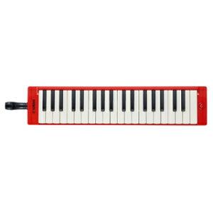 ヤマハ YAMAHA 大人のピアニカ P-37ERD レッド 鍵盤数:37 音域:f〜f'''(同梱品:吹き口、演奏用パイプ、取扱説明書、ソフトケース(ストラップ付き) 鍵盤ハーモニカ)