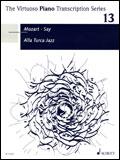 楽譜 モーツァルト(ファジル・サイ編曲)/トルコ行進曲ジャズ SW1126/輸入楽譜/The Virtuoso Piano Transcription Series 13