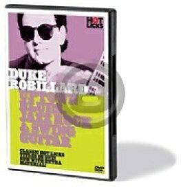 [DVD] デューク・ロビラード/アップタウン・ブルース、ジャズ・ロック&スウィングギター【10,000円以上送料無料】(Duke Robillard - Uptown Blues, Jazz Rock & Swing Guitar)《輸入DVD》