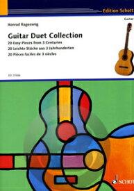 [楽譜] 20のギター二重奏名曲集《輸入ギター楽譜》※出版社都合により、納期にお時間をいただく場合がございます【10,000円以上送料無料】(Guitar Duet Collection (20 Leichte St?cke aus 3 Jahrhunderten)《輸入楽譜》