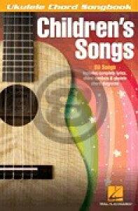 [楽譜] 子供向けウクレレ曲集(ドレミの歌、ミッキーマウス・マーチ他80曲収録)《輸入ウクレレ楽譜》【10,000円以上送料無料】(Children's Songs)《輸入楽譜》