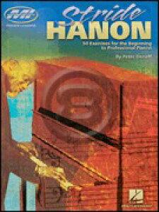 [楽譜] ストライド奏法のハノン【10,000円以上送料無料】(Stride Hanon)《輸入楽譜》