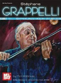 [楽譜] ステファン・グラッペリ/ジプシー・ジャズ・ヴァイオリン【10,000円以上送料無料】(Stephane Grappelli Gypsy Jazz Violin )《輸入楽譜》