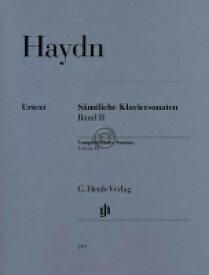 [楽譜] ハイドン/ピアノ・ソナタ全集 第2巻 《輸入ピアノ楽譜》【10,000円以上送料無料】(Complete Piano Sonatas Volume II)《輸入楽譜》