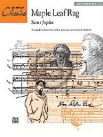 [楽譜] S.ジョプリン/メイプルリーフ・ラグ(中級ピアノ)《輸入ピアノ楽譜》【10,000円以上送料無料】(Maple Leaf Rag)《輸入楽譜》