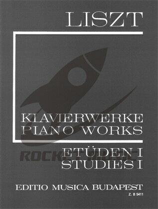 [楽譜] リスト全集 第1シリーズ第1巻:超絶技巧練習曲《輸入ピアノ楽譜》【DM便送料無料】(Etudes)《輸入楽譜》