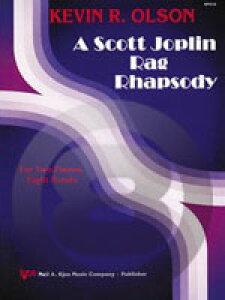 [楽譜] スコット・ジョプリン/ラグ・ラプソディー(2台8手)《輸入ピアノ楽譜》【10,000円以上送料無料】(Scott Joplin Rag Rhapsody (2 Pianos 8 Hands)《輸入楽譜》