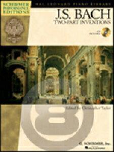 [楽譜] J.S.バッハ/二声のインヴェンション(音源ダウンロード版)《輸入ピアノ楽譜》【10,000円以上送料無料】(J.S. Bach - Two-Part Inventions)《輸入楽譜》