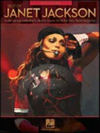 [楽譜] ベスト・オブ・ジャネット・ジャクソン《輸入ピアノ楽譜》【10,000円以上送料無料】(Best of Janet Jackson)《輸入楽譜》
