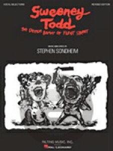 [楽譜] スウィーニー・トッド 改訂版(ピアノ/ヴォーカル)《輸入ピアノ楽譜》【10,000円以上送料無料】(Sweeney Todd - Revised Edition)《輸入楽譜》