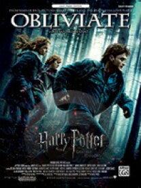 [楽譜] オブリヴェイト(映画「ハリー・ポッターと死の秘宝part1」より)(初級ピアノ)《輸入ピアノ楽譜》【10,000円以上送料無料】(Obliviate (from Harry Potter and the Deathly Hallows, Part 1)《輸入楽譜》
