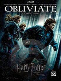 [楽譜] オブリヴェイト(映画「ハリー・ポッターと死の秘宝part1」より)(5本指シリーズ、初級ピアノ)《輸...【10,000円以上送料無料】(Obliviate (from Harry Potter and the Deathly Hallows, Part 1)《輸入楽譜》