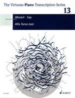 [楽譜] トルコ行進曲に基づく「トルコ風ジャズ」(Mozart/ Say編曲)《輸入ピアノ楽譜》【DM便送料別】(Alla Turca Jazz)《輸入楽譜》