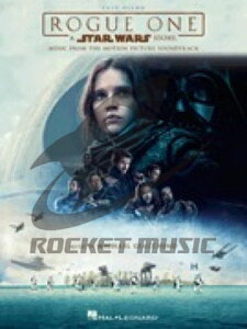 [楽譜] ローグ・ワン/スター・ウォーズ・ストーリー(同名映画より)(初級ピアノ)《輸入ピアノ楽譜》【10,000円以上送料無料】(Rogue One A Star Wars Story)《輸入楽譜》
