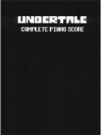 [楽譜] 「UNDERTALE」オフィシャルピアノ曲集(完全版)【10,000円以上送料無料】(UNDERTALE Complete Piano Score (Physical Sheet Music Book)《輸入楽譜》
