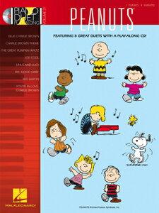 [楽譜] ピーナッツ ピアノ・デュエット曲集(1台4手連弾用,CD付き)《輸入ピアノ楽譜》【10,000円以上送料無料】(PEANUTS Piano Duet Play-Along Volume 21)《輸入楽譜》