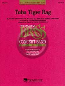 [楽譜] チューバ・タイガー・ラグ(Tubaセクション)《輸入吹奏楽譜》【送料無料】(TUBA TIGER RAG)《輸入楽譜》