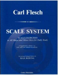 [楽譜] ヴァイオリンのための音階教本(スケール・システム)(カール・フレッシュ著)【10,000円以上送料無料】(Scale System for Violin)《輸入楽譜》
