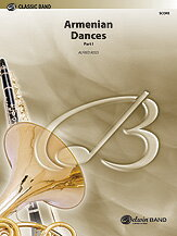 [楽譜] アルメニアンダンス・パート1 (スコア)《輸入吹奏楽譜》【DM便送料別】(ARMENIAN DANCES Pt.1 (Score)《輸入楽譜》