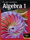 McDougal Littell Algebra 1(高校数学教科書<代数1>)【アメリカの高校数学教科書】