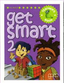 GET SMART Teacher's Book2 (Student's Book対応)【All English Text】