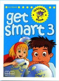 GET SMART Teacher's Book3 (Student's Book対応)【All English Text】