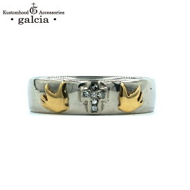 """galcia / ガルシア """"(LADY'S) PLATINUM MARRIAGE RING """" CROSS SWALLOW PT900 K18 DIAMOND プラチナ ダイヤモンド マリッジリング ペアリング クロス スワロウ (GMR01PT LADY'S)"""