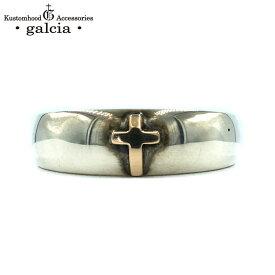 "galcia / ガルシア (MEN'S) "" SILVER 925 PAIR RING "" K10 CROSS MARRIAGE RING ENGAGEMENT RING シルバー 925 ペアリング マリッジリング エンゲージリング クロス (GPR03R MEN'S)"