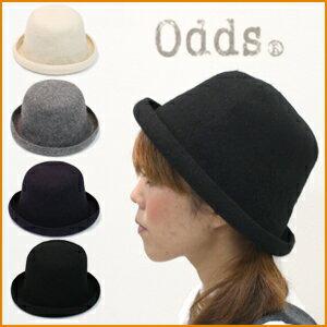 【メール便送料無料/ゆうパック630円】odds【オッズ】 vasque ball hat バスクボールハット レディース フェルト 帽子