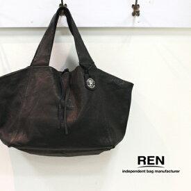 REN 【レン】ゴートレザートートバッグM FU-10932 レディース BARE ベアー ダックストートM