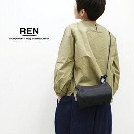 REN【レン】ピッグスキンキャニスターショルダーバッグ KT-30321 レディース HALLIE ハリー ショルダーバッグ ポシェット