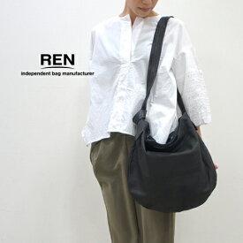 REN【レン】ゴートレザー2ウェイサークルショルダーM FU-10942 レディース ベアー 山羊革