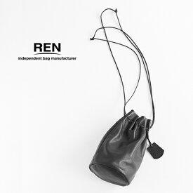 REN【レン】ゴートレザーキャニスターボトルショルダー KT-15301 レディース STILL スティル ショルダーバッグ