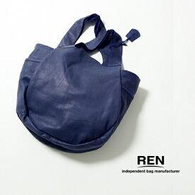 REN 【レン】ゴートレザーベアー パンプキンサック/M FU-10963 レディース BARE ベアー トートバッグ