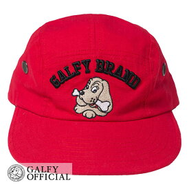 GALFY OFFICIAL ガルフィー 【 Jet cap 】 キャップ 帽子 ルシアン・フェローチェ ストリート ヤンキー 犬 チェック galfy ブランド メンズ レディース ロゴ かっこいい かわいい ホワイト ブラック レッド がるふぃ