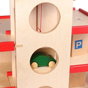 ベック社立体駐車場リフト付・赤