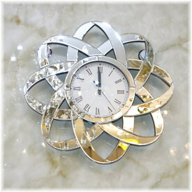 時計 壁掛け 振子 家具 インテリア インテリア小物 和風 洋風【送料無料!】豪華!壁掛け時計新品 オシャレなデザイン ミラー装飾壁掛け時計おしゃれ 豪華 可愛い シンプル アンティーク