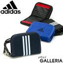 【メール便】 アディダス 二つ折り財布 財布 adidas 財布 二つ折り コンパクト 小銭入れあり ラウンドファスナー ウォ…