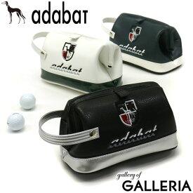 無料ラッピング アダバット ポーチ adabat GOLF ゴルフ カートバッグ カートポーチ セカンドバッグ クラッチバッグ ハンドル付き 小物入れ ゴルフ用品 ゴルフグッズ メンズ レディース ABZ411 2021SS