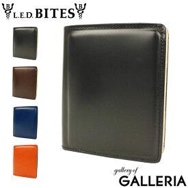 【最大13倍 Rカードで15倍】L.E.D.BITES エルイーディーバイツ 財布 SHELL シェル 二つ折り財布 B-9099